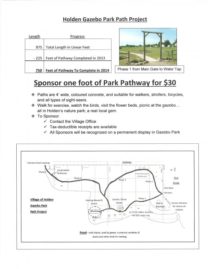 Gazebo Park Path Project-fund raiser 2014-colour